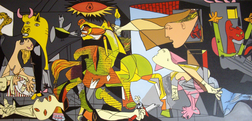 free pablo picasso guernica coloring pages