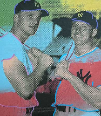 Mickey Mantle And Roger Maris 2005 Embellished