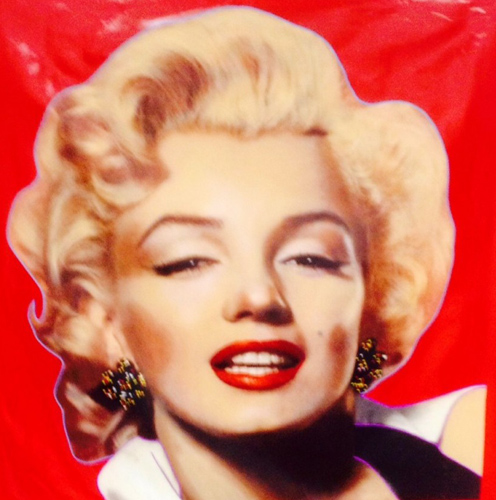 Hollywood Beauty Marilyn 1996 Unique 48x48
