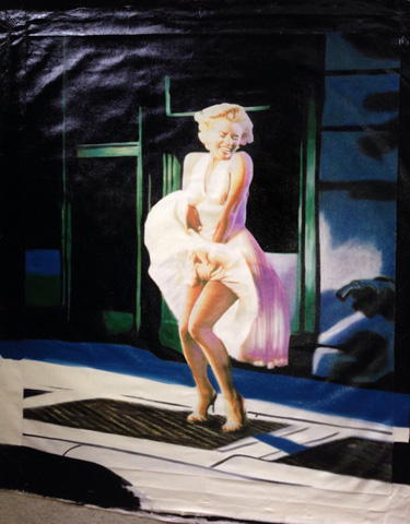 Marilyn Monroe Some Like It Hot Unique 2004 48x39