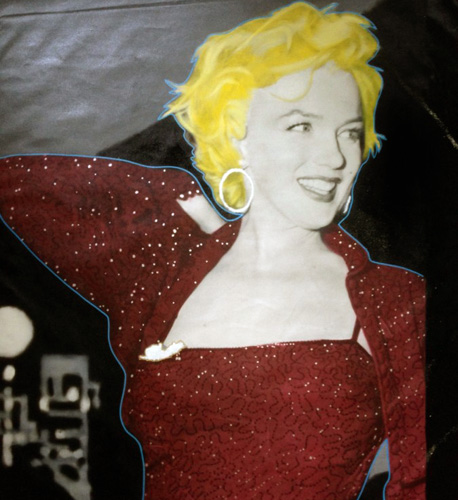 Marilyn Red Carpet 2004 48x36 Unique