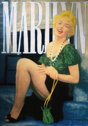 Marilyn Laughing 2000 by Steve Kaufman