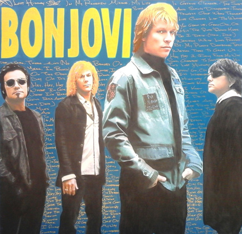 Bon Jovi - Lost Highway With Lyrics 46x46 2008