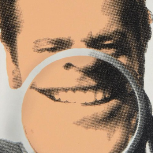 Jack Nicholson Close Up