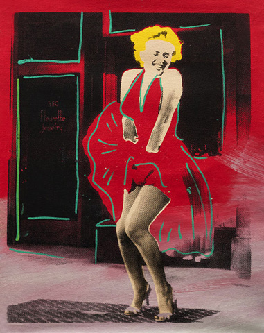Marilyn Monroe, Some Like It Hot Unique 28x24