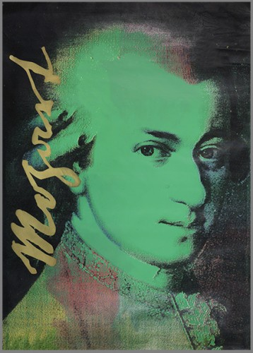 Mozart Green Unique  1997 65x47