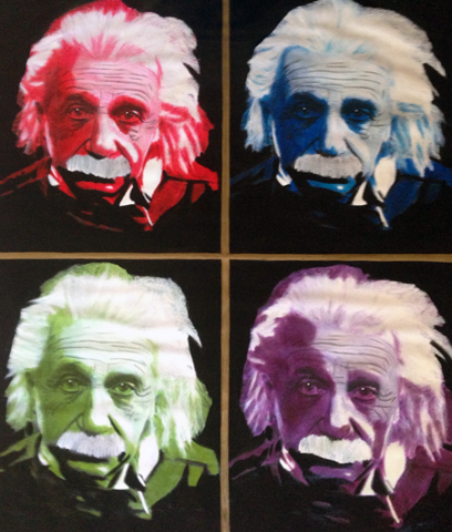 Einstein Quad 2000 46x40 Unique