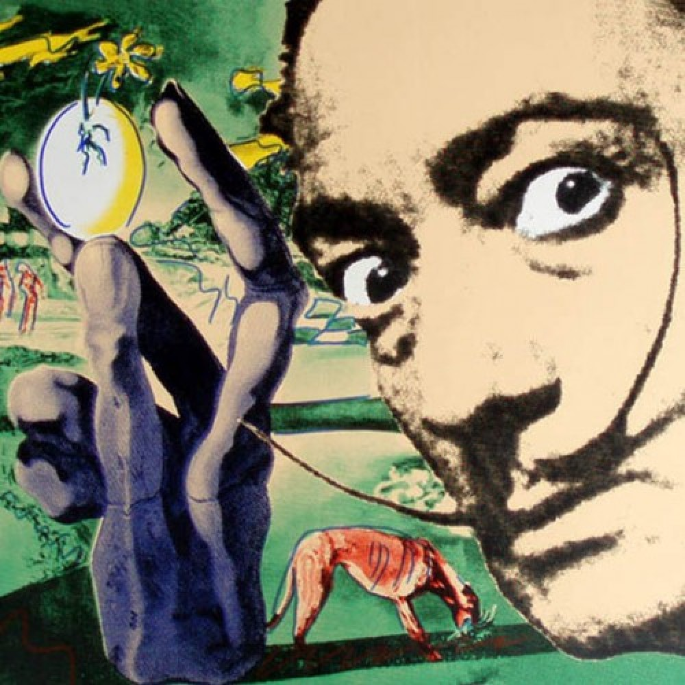 Dali Metamorphosis of Narcissism 20 x 20