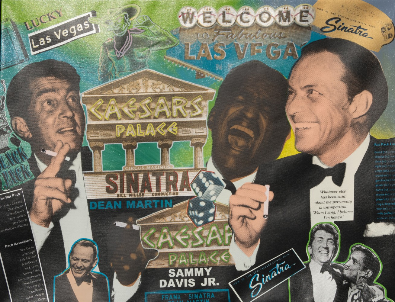Rat Pack Caesars Palace AP