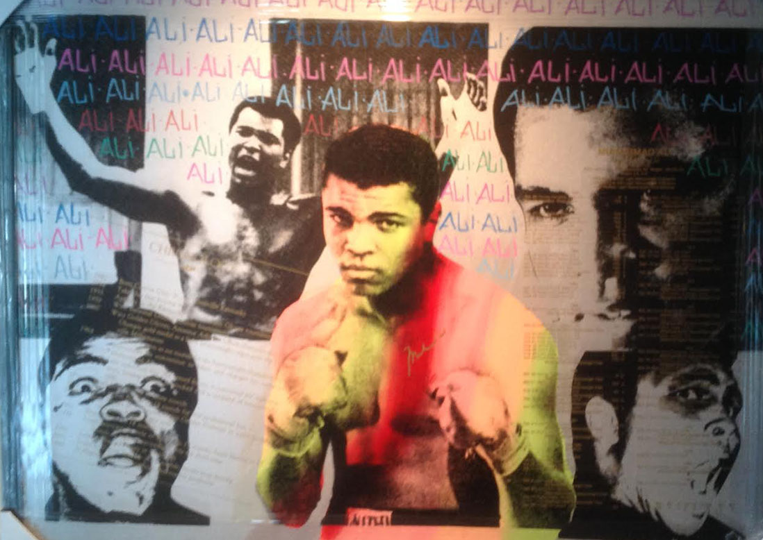 Ali Olympic The Greatest signed Muhammad