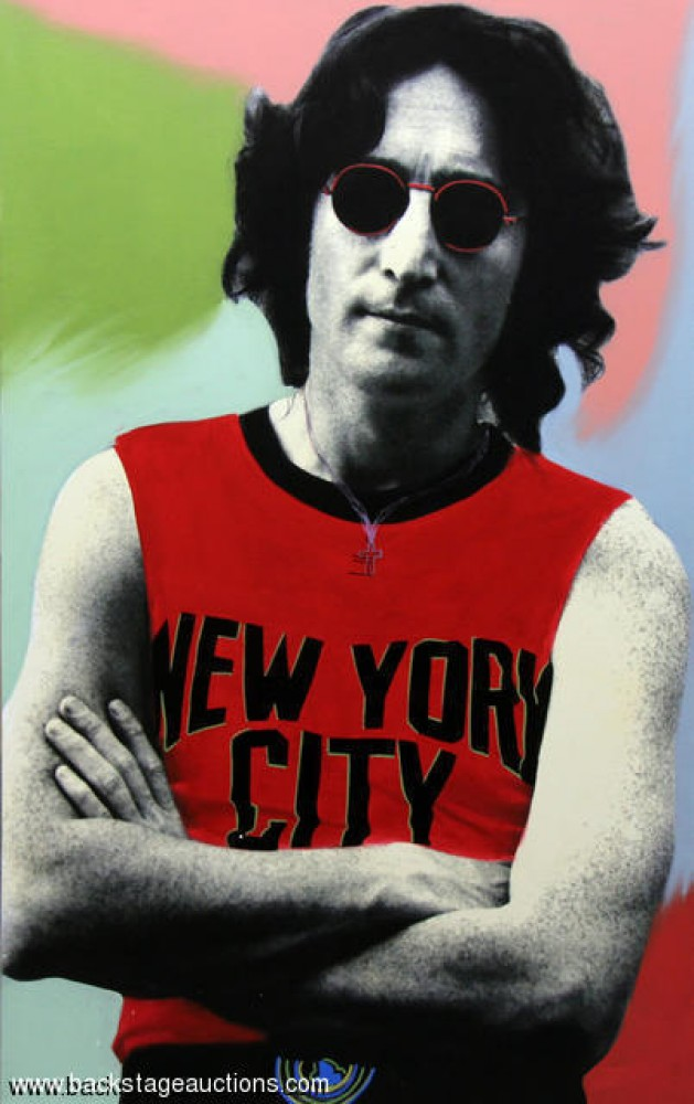 John Lennon New York Unique 2001 48x30