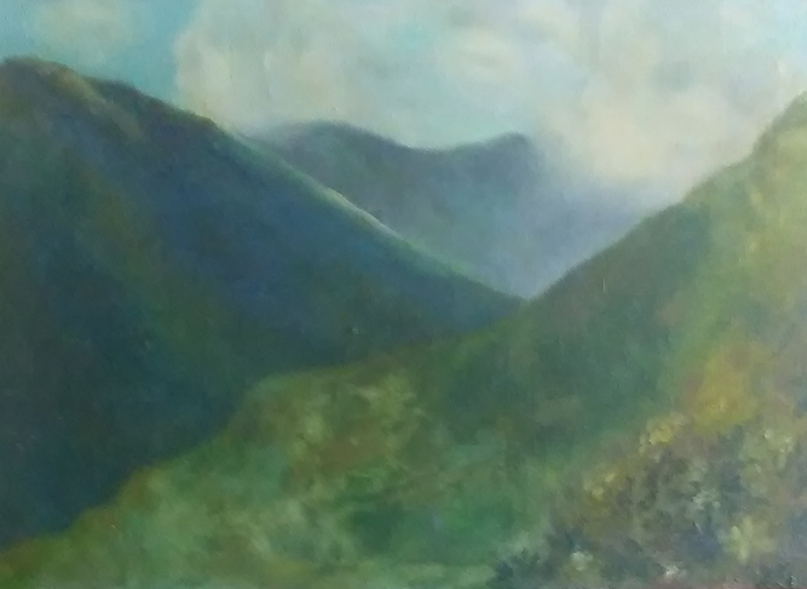 Untitled Hawaii Landscape 1967 19x32