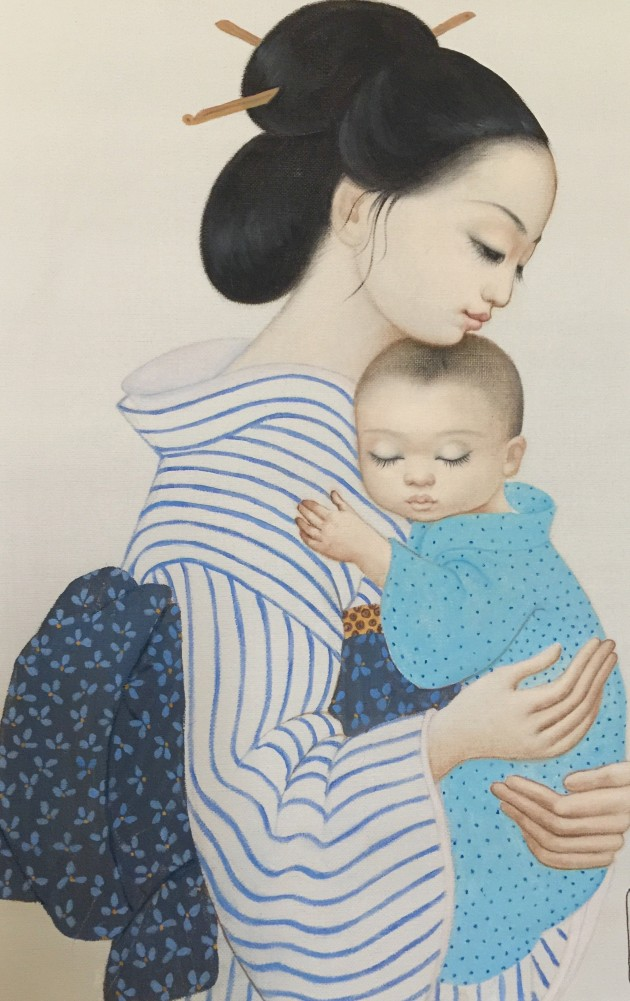 First Born 1981 23x19 by Margaret D. H. Keane