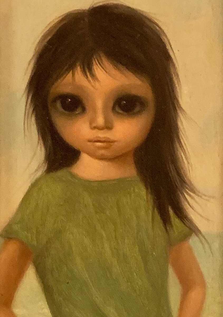 Little Sister 1966 14x10 (big Eyes)