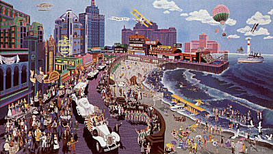 Boardwalk of Atlantic City 1986