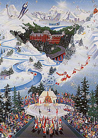 Let the Winter Games Begin (1988 Winter Olympics) AP