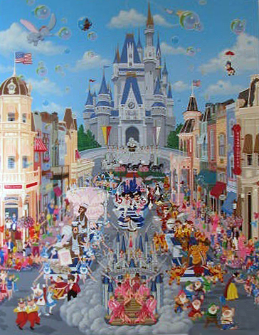 Walt Disney World AP 1988