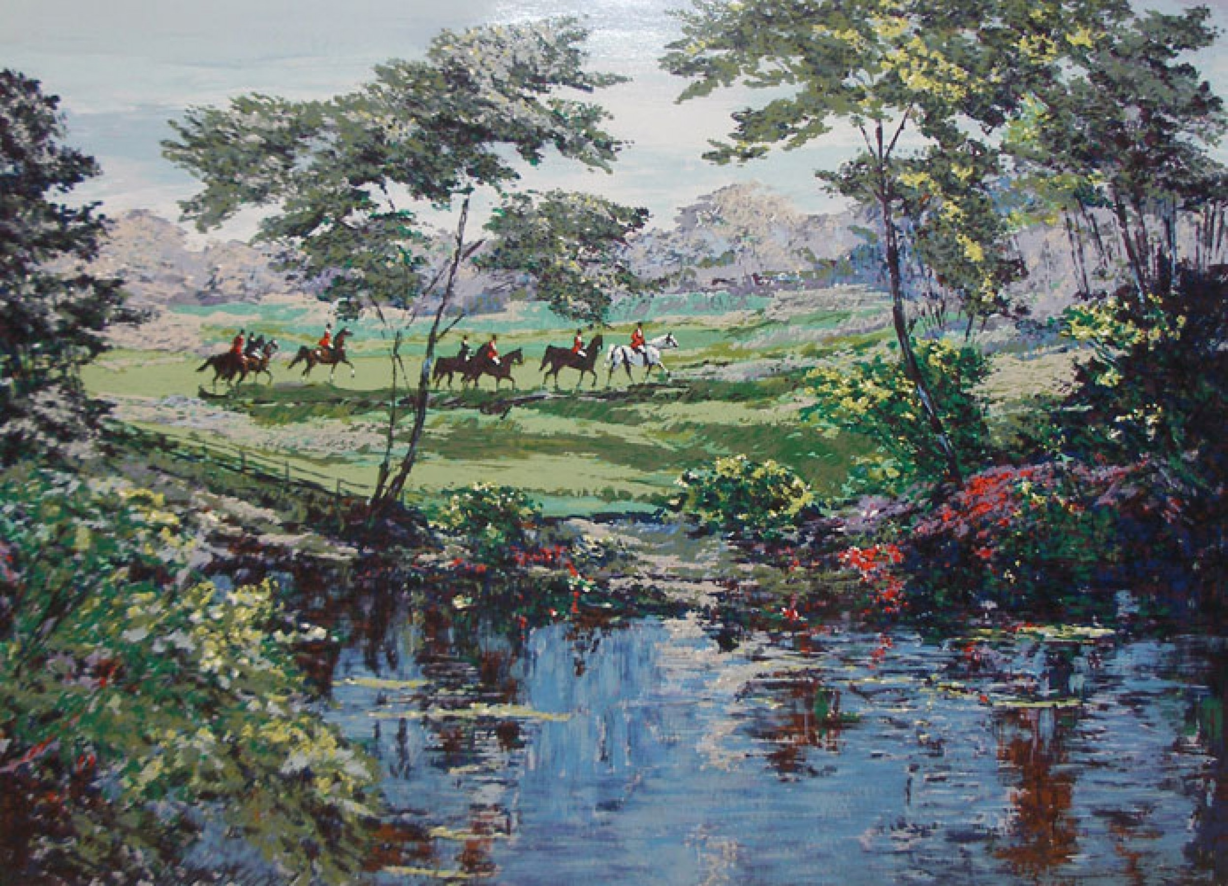 Morning Hunt (Equestrian) 1990