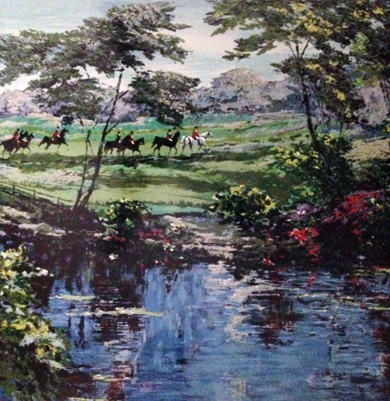 Morning Hunt (Equestrian) 1989