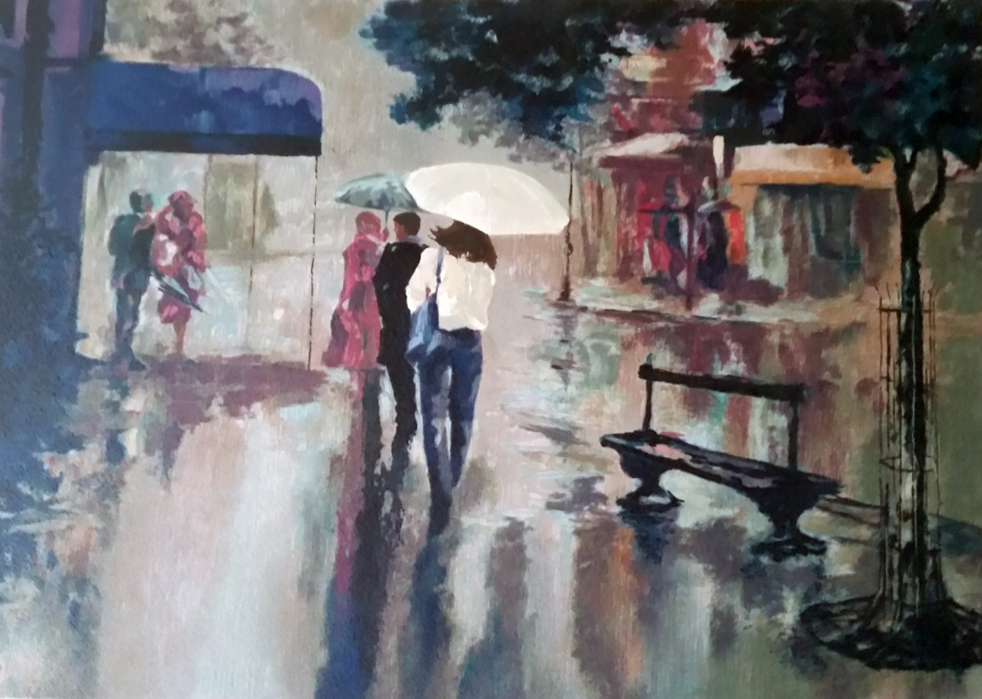 Rainy Day - Reflections 1990