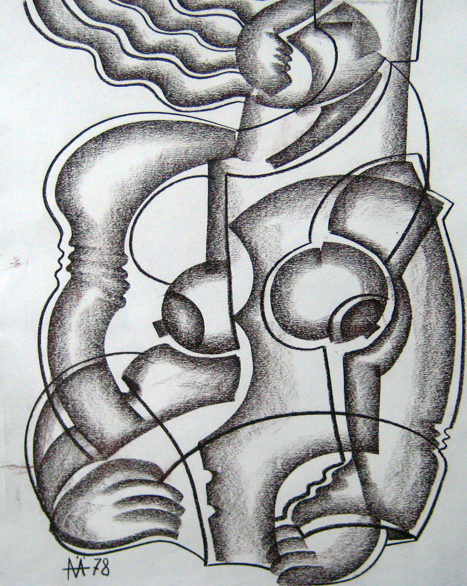 Untitled Drawing 1978 35x23