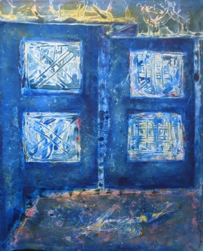Blue Transition 2009 78x67
