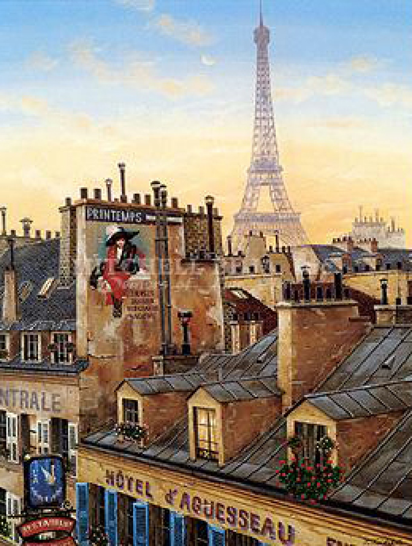 Rooftops of Paris Suite (Paris Morning / Paris Evening) 2000