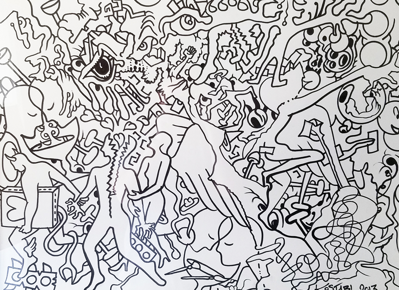Full Disclosure Drawing 2014 45x45
