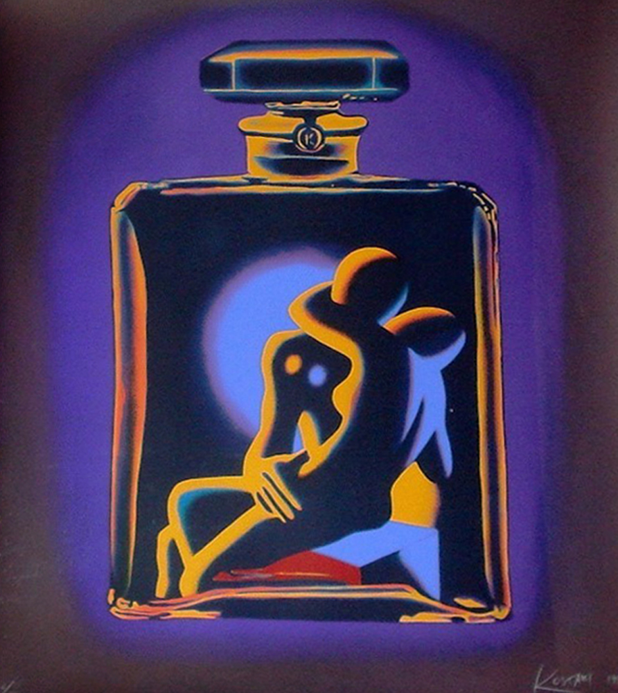 Chanel # 5 1990 by Mark Kostabi