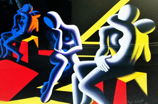 Langour of Love 1993 by Mark Kostabi