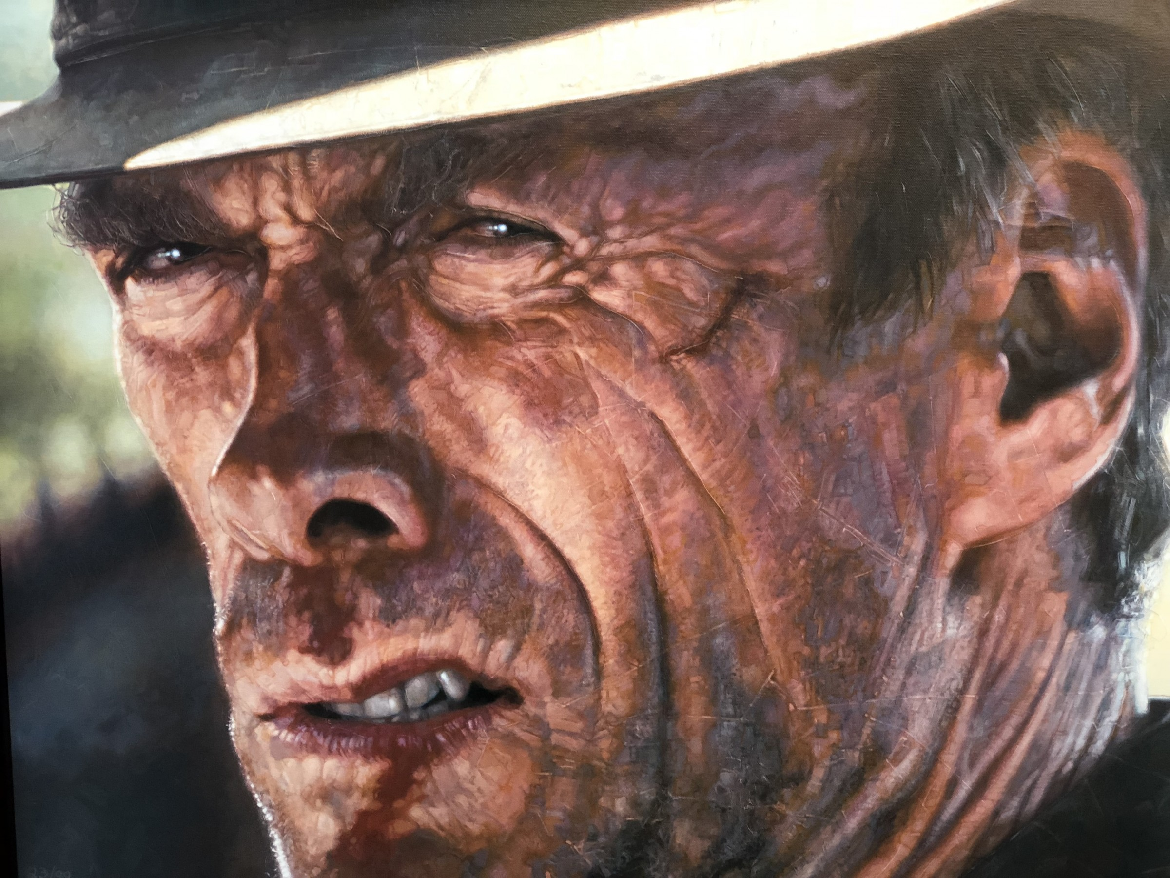 The Good Clint Eastwood 28x45