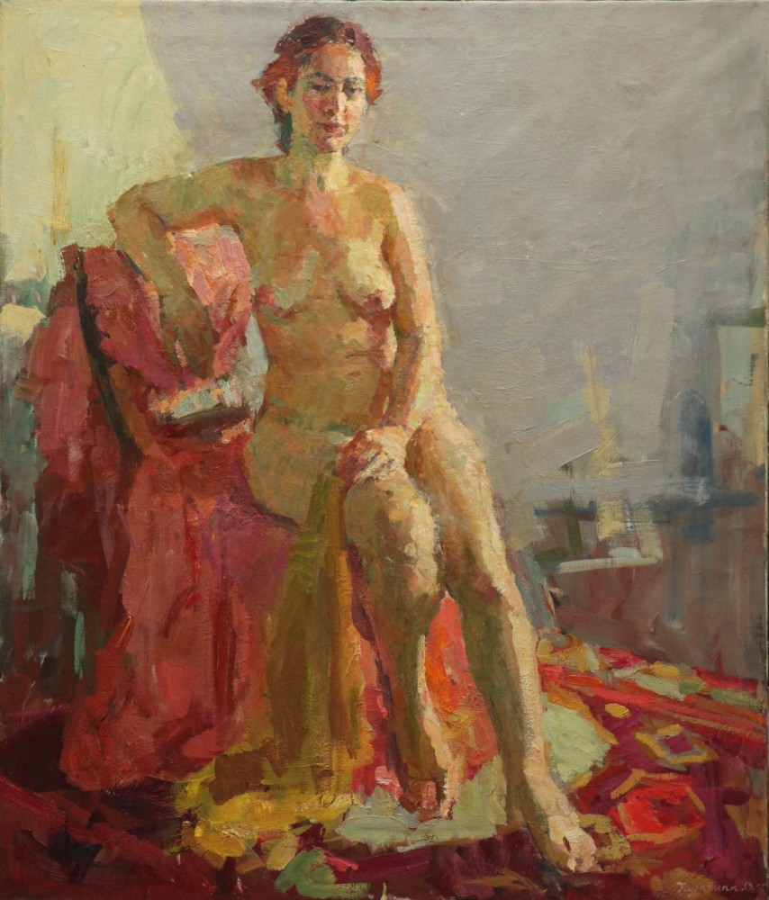 Nude in a Sunny Room 1950 39x33