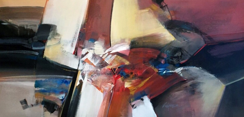 Untitled 24x47 by Wilfred Lang