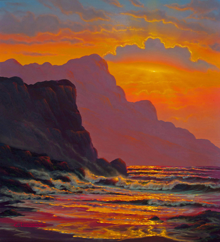 Hawaiian Seascape 1976
