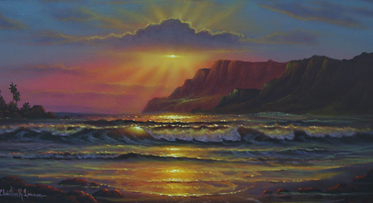 Sunrise and Surf 1985