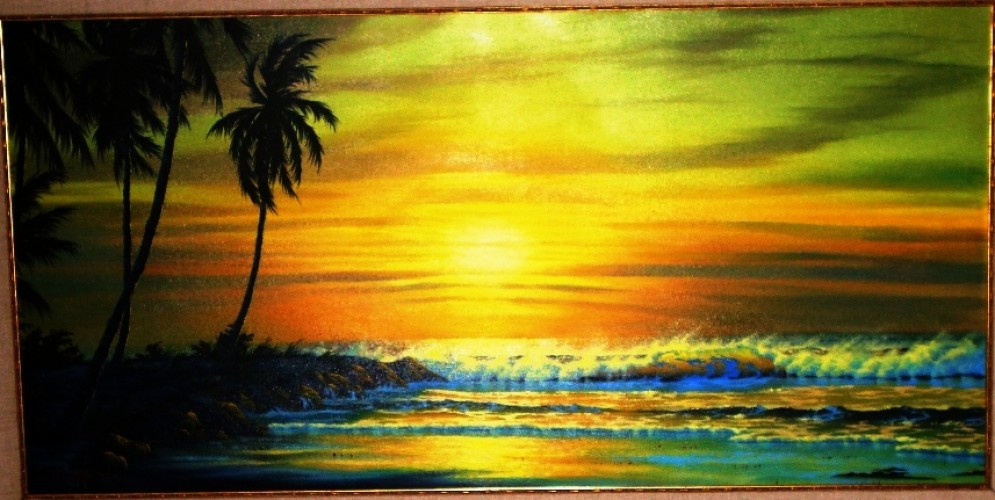 Sunset in Maui 1988