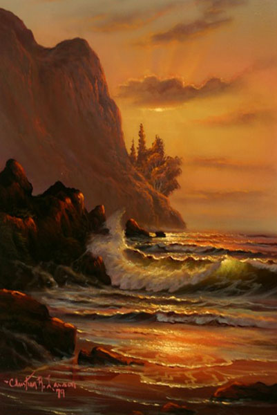 Sunset Seascape 1979