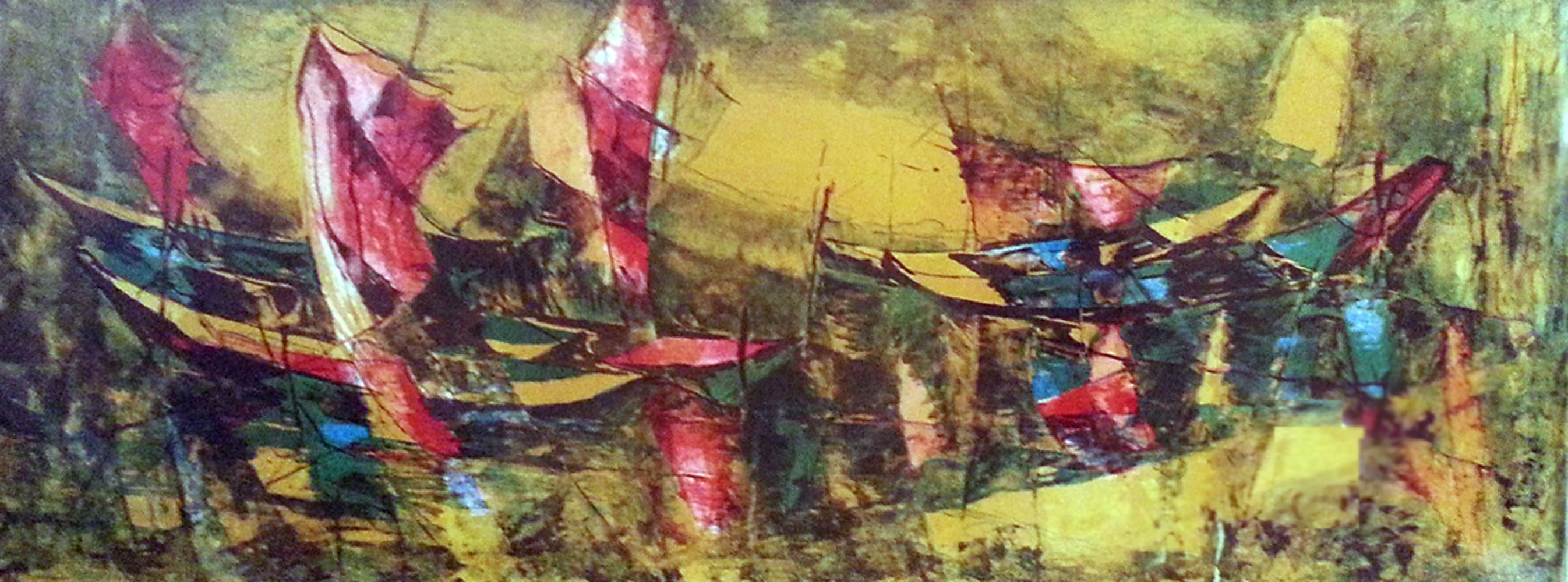 Fishing Boats #2 1960