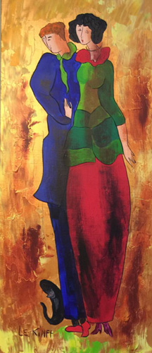 A Night Out #1 2006 40x23