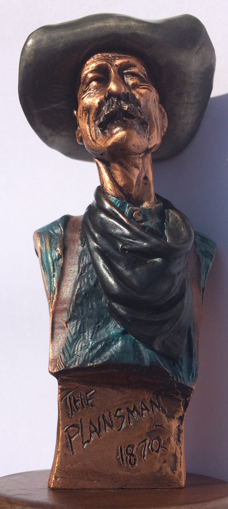 Plainsman 1870 Bronze Sculpture 1995