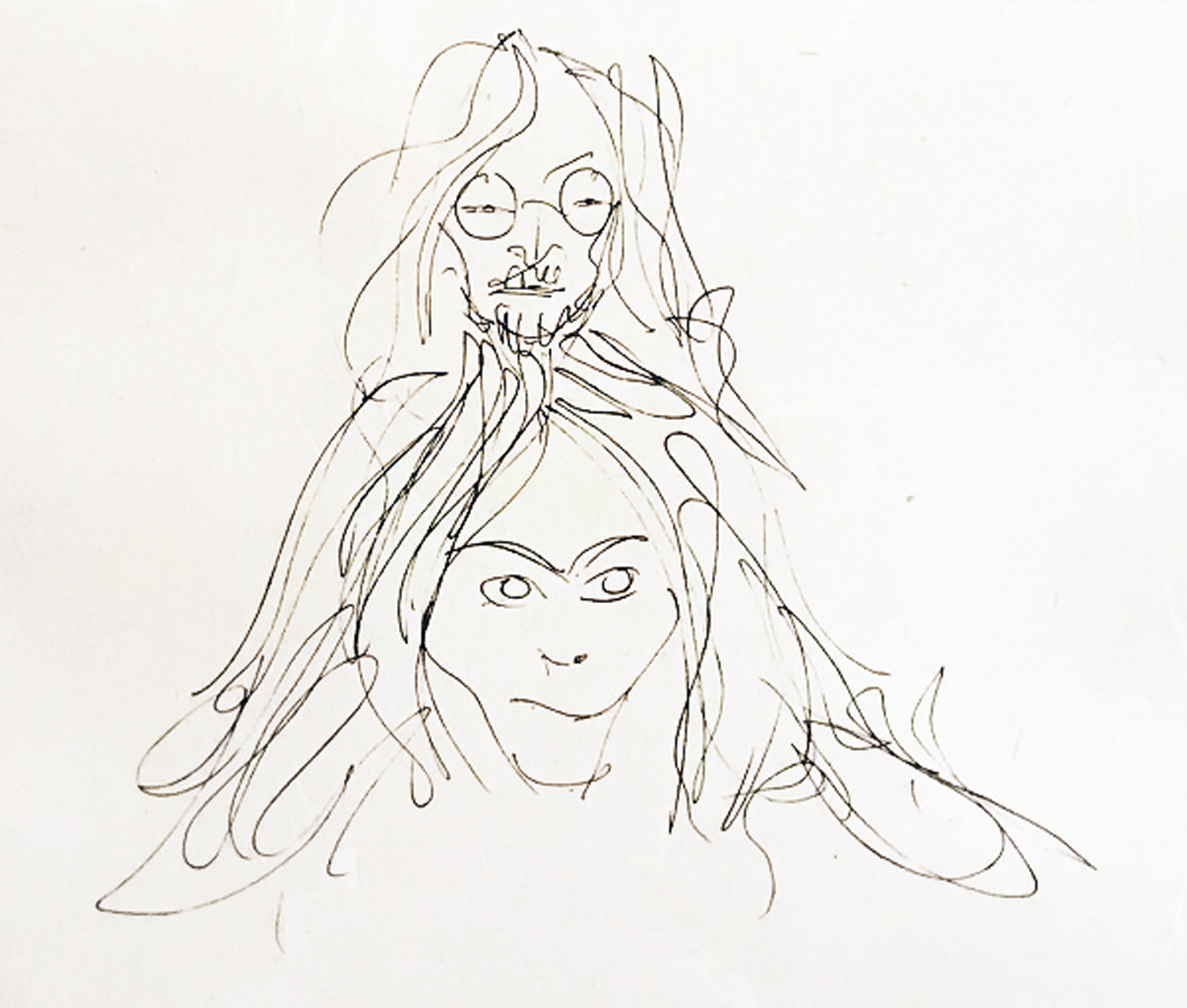 Self Portrait ( John and Yoko) 1986