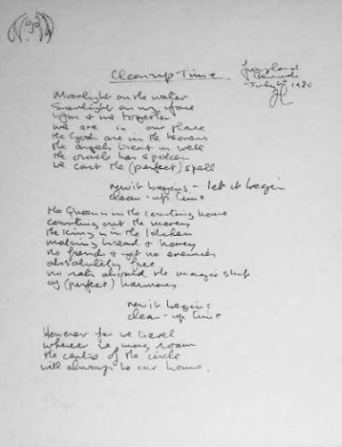John Lennon Mind Games Lyrics