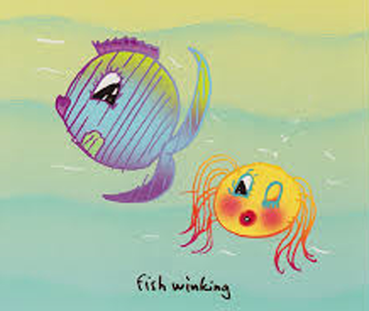 A Fish Winking 1999