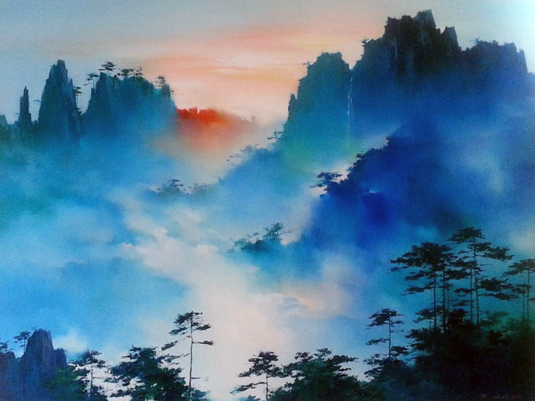 Mountain Senata 2001 44 x 57