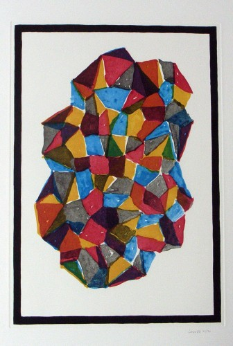 Complex Forms (Suite of 5 Prints) 1989