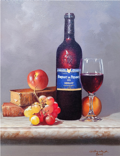 Fruit And Wine 22x26