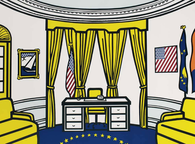 Oval Office 1992 by Roy Lichtenstein