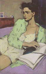 Reading in Bed 2002
