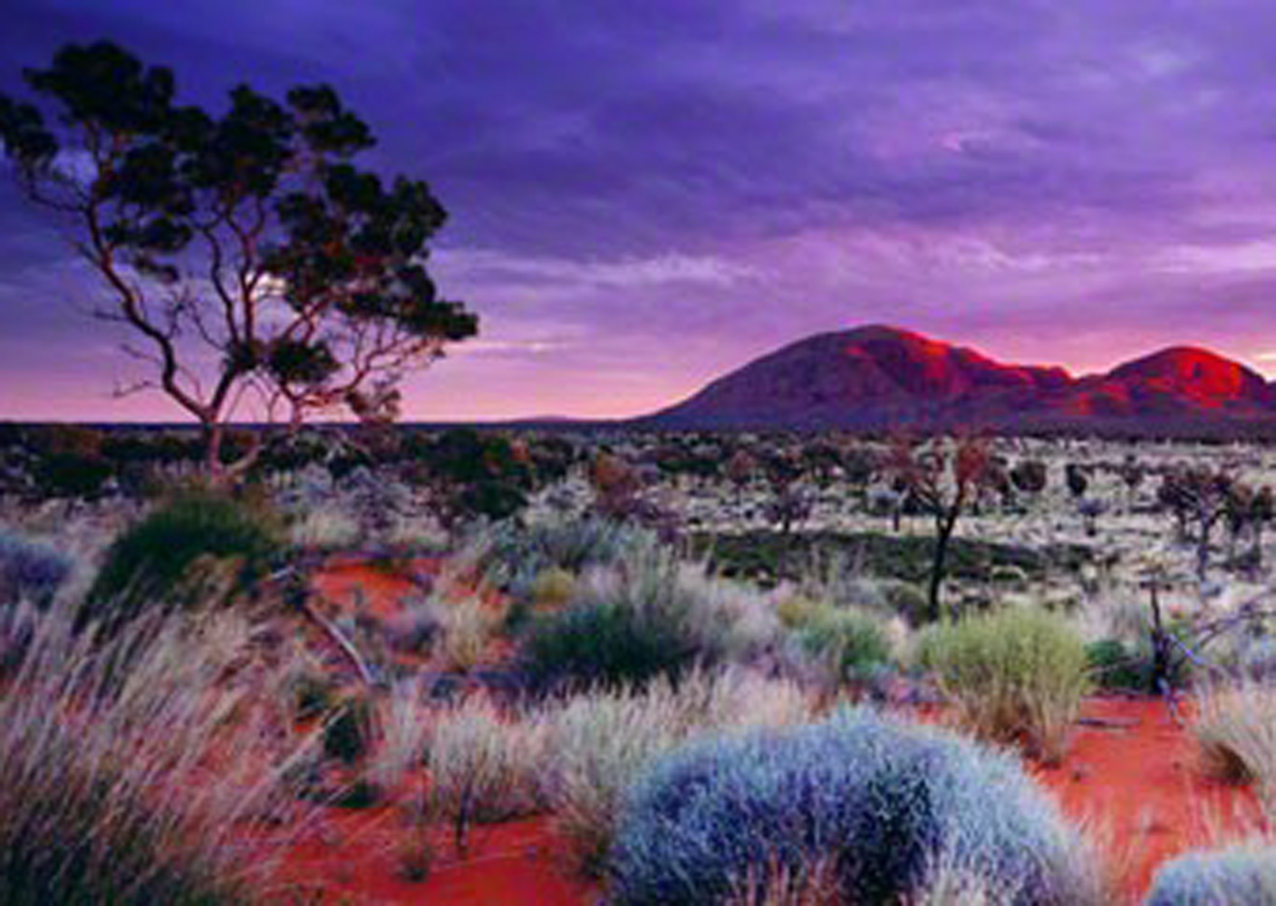 Painted Skies (Kata Tjuta National Park) Australia 2001