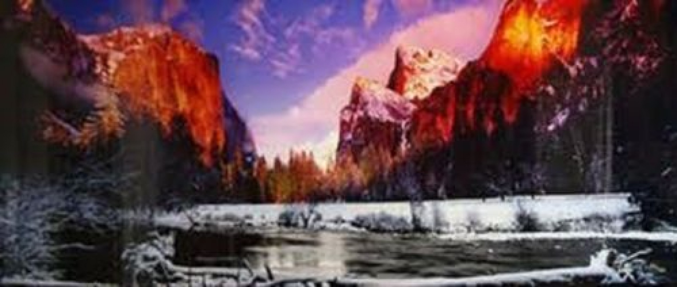 Icy Waters  (Yosemite NP, California) AP